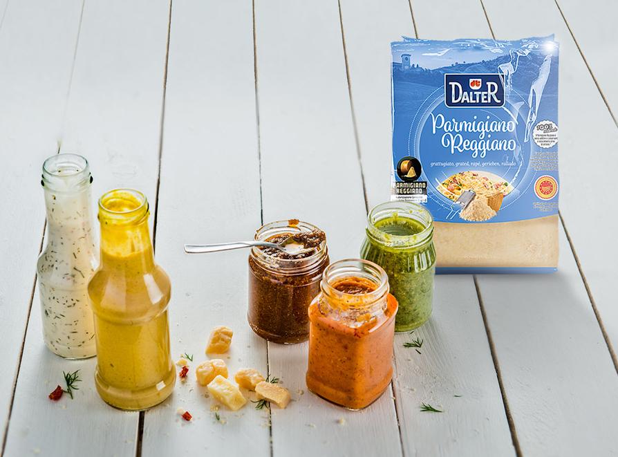 Möchten Sie den Geschmack Ihrer Produkte noch besser zur Geltung bringen? Das Geheimnis: der Parmigiano Reggiano
